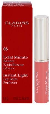 Clarins Lip Make-Up Instant Light feuchtigkeitsspendendes Lippenbalsam 2