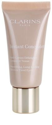 Clarins Face Make-Up Instant Concealer anticearcan cu efect de lunga durata cu efect de netezire
