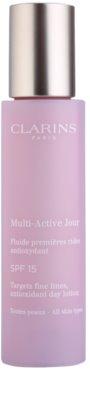Clarins Multi-Active hidratante e protetor fluido SPF 15
