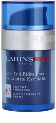 Clarins Men Age Control učvrstitveni balzam za predel okoli oči z gladilnim učinkom