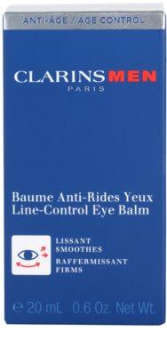 Clarins Men Age Control učvrstitveni balzam za predel okoli oči z gladilnim učinkom 3