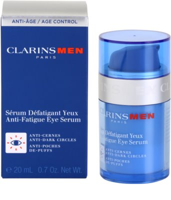 Clarins Men Age Control сироватка для шкіри навколо очей від  зморшок, набряків та темних кіл під очима 2