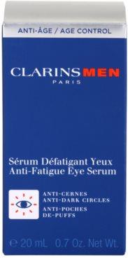 Clarins Men Age Control сироватка для шкіри навколо очей від  зморшок, набряків та темних кіл під очима 3
