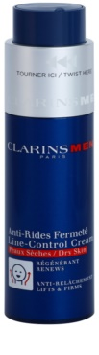Clarins Men Age Control crema antiarrugas para pieles secas