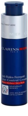 Clarins Men Age Control crema antiarrugas para pieles secas 1