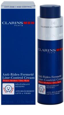 Clarins Men Age Control crema antiarrugas para pieles secas 2
