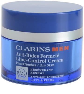 Clarins Men Age Control crema antiarrugas reafirmante para pieles secas