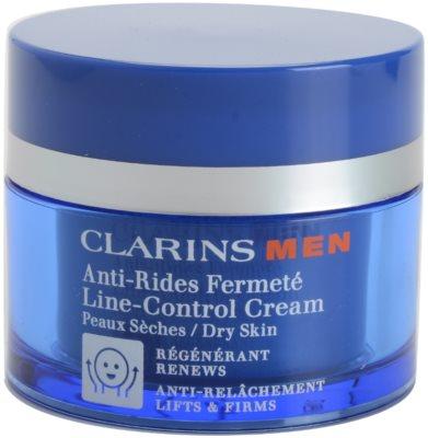 Clarins Men Age Control przeciwzmarszczkowy krem wzmacniający do skóry suchej