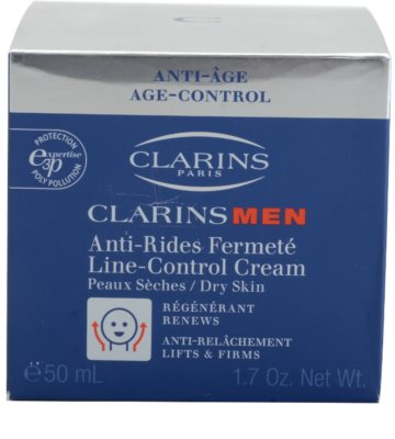 Clarins Men Age Control učvrstitvena krema proti gubam za suho kožo 2
