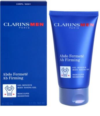 Clarins Men Body зміцнюючий гель для пресу 1