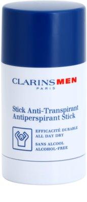 Clarins Men Body tuhý antiperspitant bez alkoholu