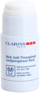 Clarins Men Body antitranspirante en barra sin alcohol 1