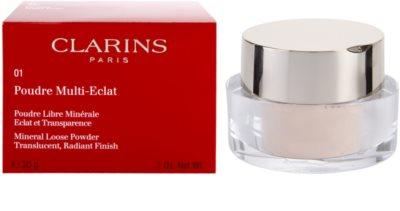 Clarins Face Make-Up Multi-Eclat mineralni puder v prahu za osvetlitev kože 3