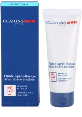 Clarins Men Shave borotválkozás utáni balzsam az arcbőr megnyugtatására 1