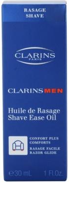 Clarins Men Shave ulei pentru barbierit pentru toate tipurile de ten 3