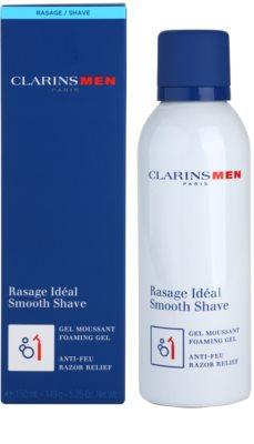 Clarins Men Shave gel pentru fermitate pentru ras 2