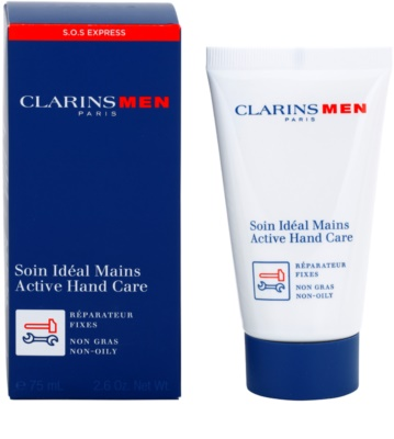 Clarins Men SOS Expert creme para pele das mãos secas e cansadas 1