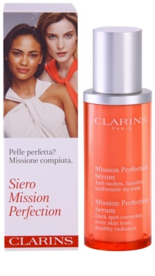 Clarins Mission Perfection serum perfeccionador para manchas de pigmento 3