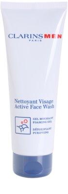 Clarins Men Wash gel espumoso de limpeza para homens