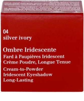 Clarins Eye Make-Up Ombre Iridescente długotrwałe cienie do powiek z perłowym blaskiem 2