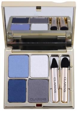 Clarins Eye Make-Up Ombre Minérale dolgoobstojna senčila za oči z ogledalom in aplikatorjem