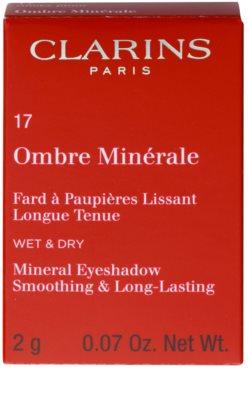 Clarins Eye Make-Up Ombre Minérale sombra de olhos mineral de longa duração com efeito alisador 2