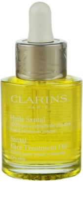 Clarins Rebalancing Care beruhigendes und regenerierendes Öl für trockene Haut