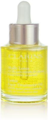 Clarins Rebalancing Care regeneracijsko olje z gladilnim učinkom za mešano in mastno kožo
