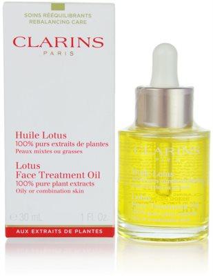 Clarins Rebalancing Care regenerační olej s vyhlazujícím účinkem pro smíšenou a mastnou pleť 1