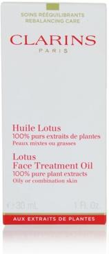 Clarins Rebalancing Care aceite regenerador con efecto alisante para pieles mixtas y grasas 2