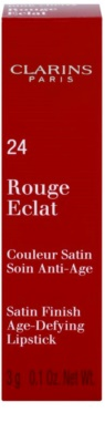 Clarins Lip Make-Up Rouge Eclat поживна помада 3