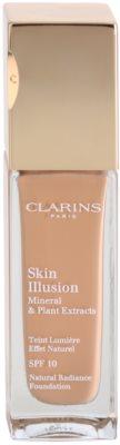 Clarins Face Make-Up Skin Illusion maquilhagem iluminadora para uma aparência natural SPF 10