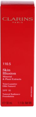 Clarins Face Make-Up Skin Illusion rozjasňující make-up pro přirozený vzhled SPF 10 3