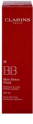 Clarins Face Make-Up BB Skin Detox Fluid BB Creme mit feuchtigkeisspendender Wirkung SPF 25 2