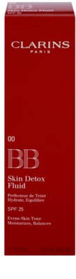 Clarins Face Make-Up BB Skin Detox Fluid BB крем с хидратиращ ефект SPF 25 2