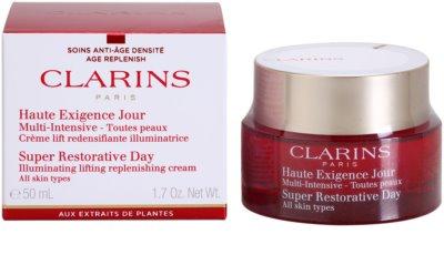 Clarins Super Restorative kräftigende Tagescreme für alle Hauttypen 1