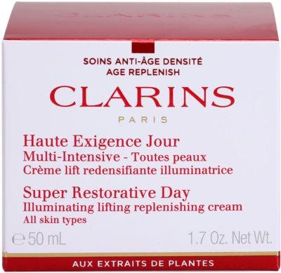 Clarins Super Restorative kräftigende Tagescreme für alle Hauttypen 2