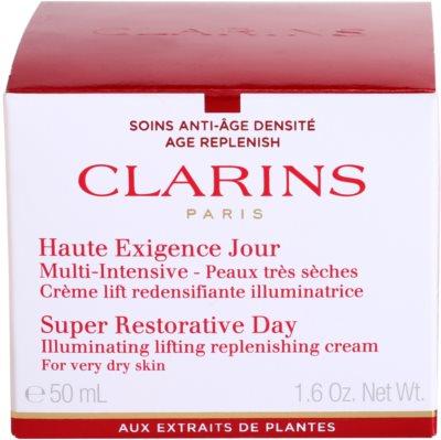 Clarins Super Restorative učvrstitvena dnevna krema za zelo suho kožo 2