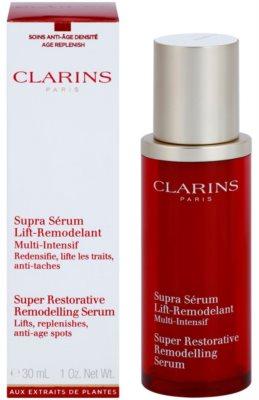 Clarins Super Restorative remodellierendes Serum für straffe Haut 2
