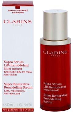 Clarins Super Restorative ser remodelator pentru protectia tenului 2