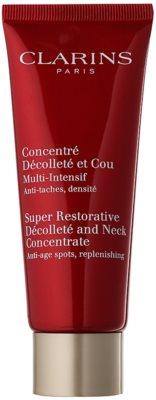 Clarins Super Restorative crema fermitate anti-rid pentru gat si decolteu