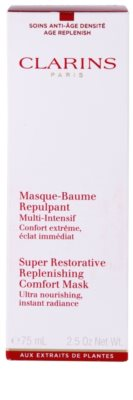 Clarins Super Restorative máscara com efeito lifting e refirmante antirrugas 2