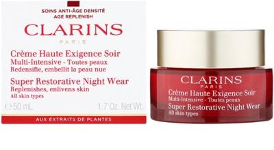 Clarins Super Restorative éjszakai revitalizáló krém minden bőrtípusra 1