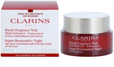 Clarins Super Restorative нічний крем проти всіх ознак старіння для всіх типів шкіри 1