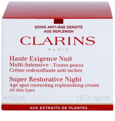 Clarins Super Restorative нічний крем проти всіх ознак старіння для всіх типів шкіри 2