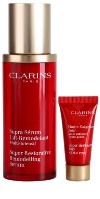 Clarins Super Restorative zestaw kosmetyków I. 2