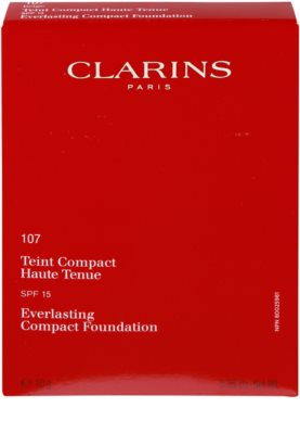 Clarins Face Make-Up Everlasting machiaj compact persistent SPF 15 2