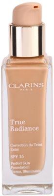 Clarins Face Make-Up True Radiance maquilhagem iluminadora hidratante para um look perfeito SPF 15 1