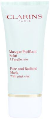 Clarins Truly Matte máscara de limpeza profunda para diminuição de poros e aspeto mate