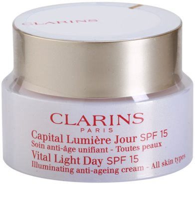 Clarins Vital Light nappali fiatalító krém minden bőrtípusra SPF 15